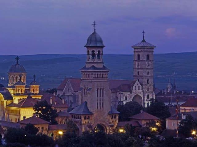 Alba Iulia citadel courtesy of Romanian Tourism Ministryx