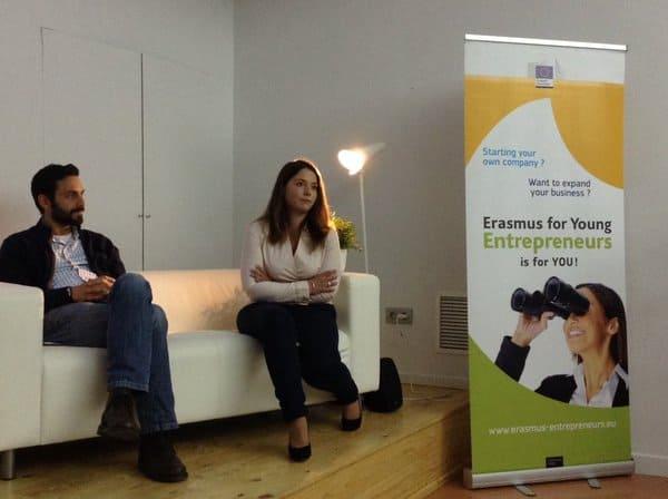 Erasmus EntrepreneursDavidyMarina