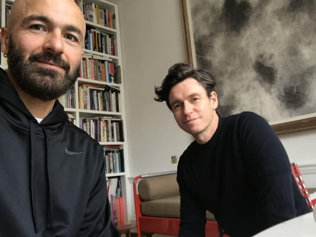 Hernán y James, participantes en Erasmus para Jóvenes Emprendedores