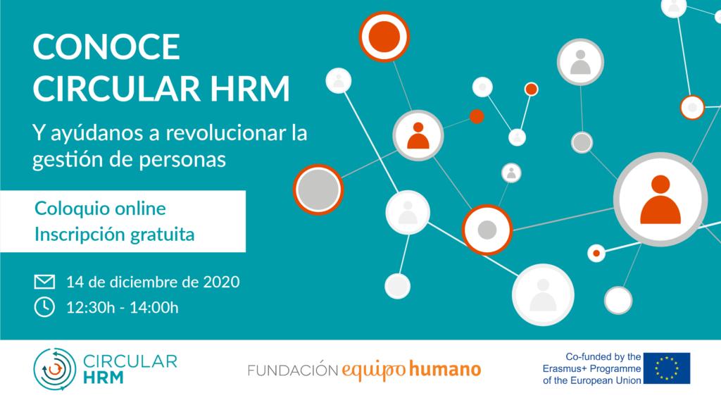Coloquio Circular HRM sobre gestión circular de los Recursos Humanos